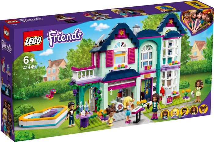Lego casa familiar de andrea