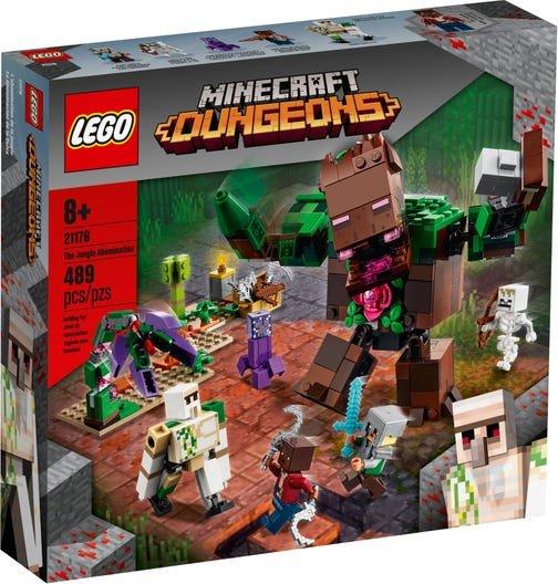 Lego minecraft la abominacion de la selva