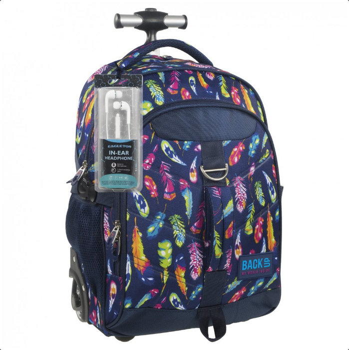 Mochila juvenil back up mod h multicolor plb1k24