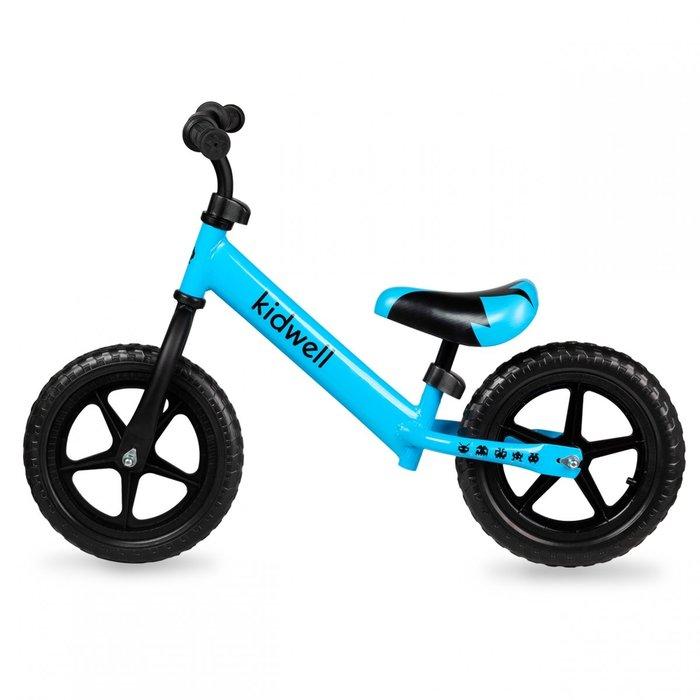 Bicicleta de equilibrio de acero azul