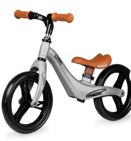 Bicicleta de equilibrio gris plata aluminio