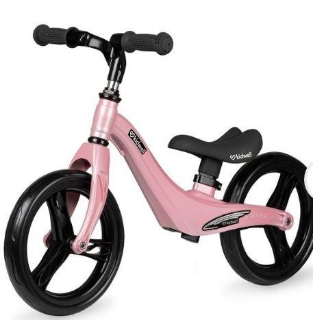 Bicicleta de equilibrio rosa pastel aluminio