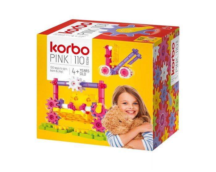 Juego de construccion korbo pink 110