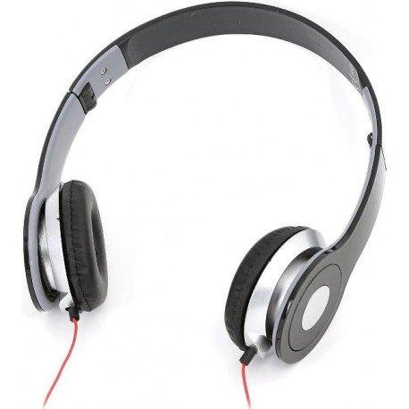 Auricular mp3 con microfono hi-fi estereo negro omega