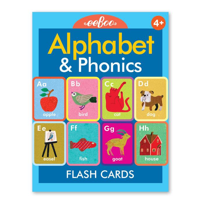 Flash cards alphabet phonics