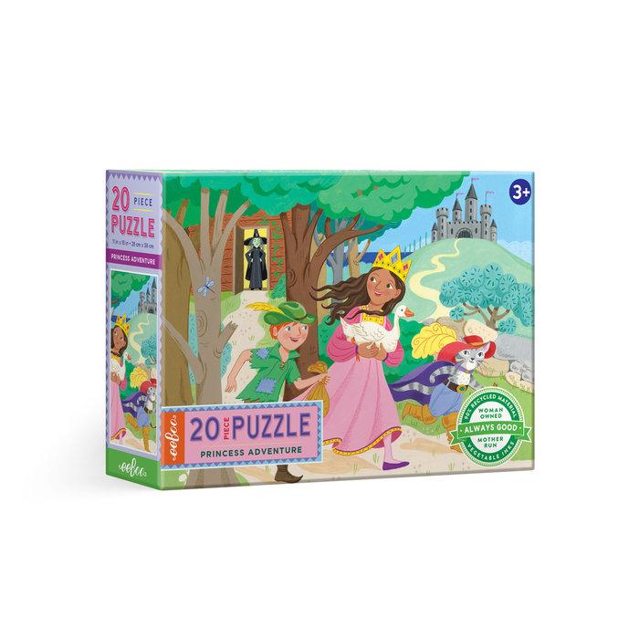Puzle 20 piezas aventura de la princesa