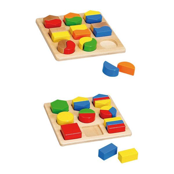 Juego didactico de madera bloques hjd93566