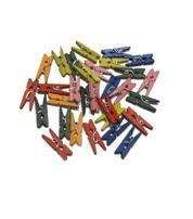 Pinzas de madera pequeñas 30 unidades