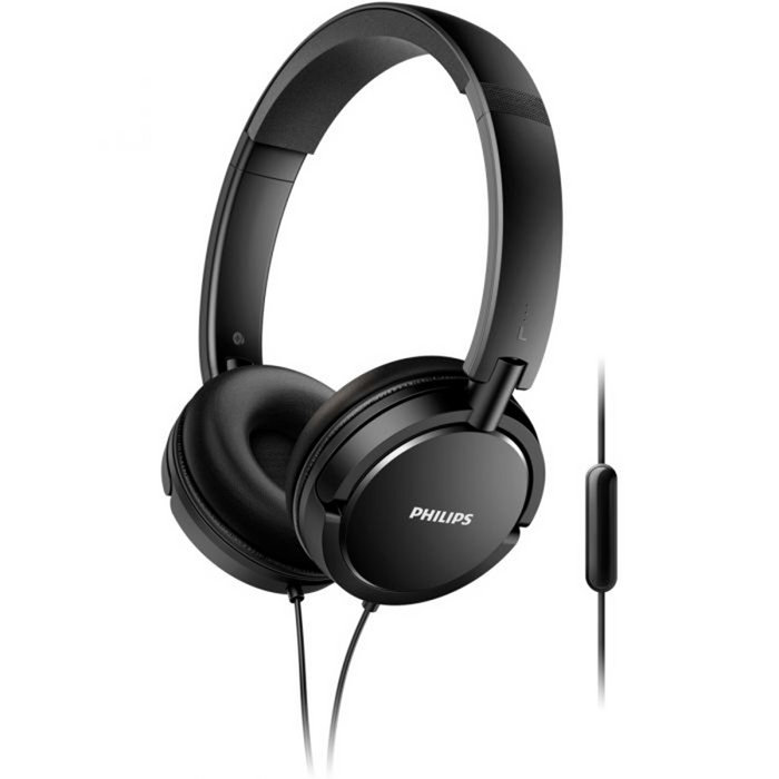 Auriculares microfono philips shl5005 negro