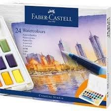 Acuarela faber castell creative studio 24 colores