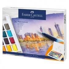 Acuarela faber castell creative studio 36 colores