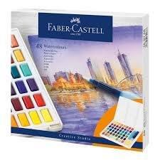 Acuarela faber castell creative studio 48 colores