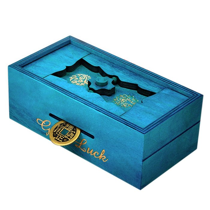 Rompecabezas caja secreta good luck