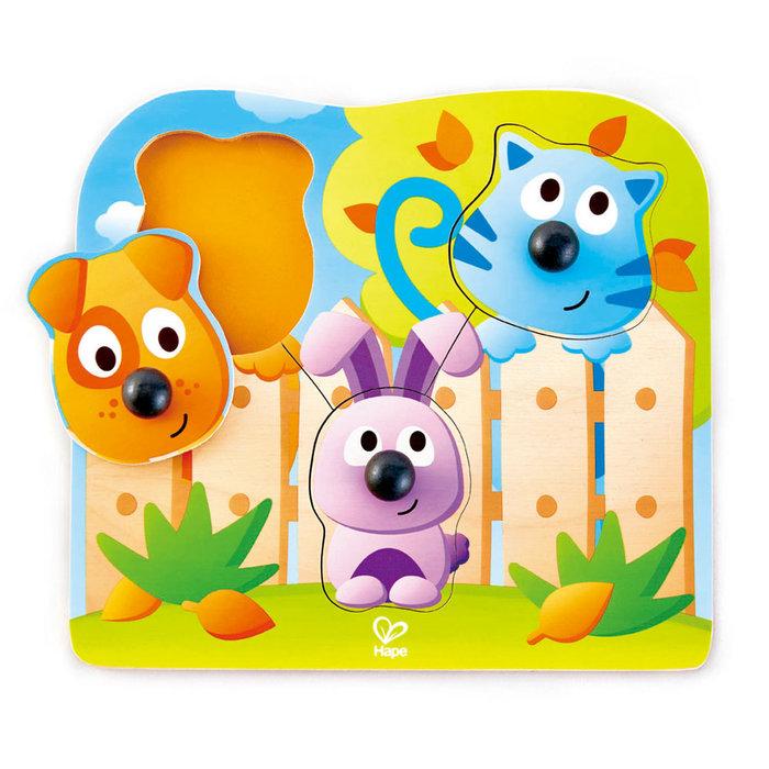 Juego hape puzzle de animalitos