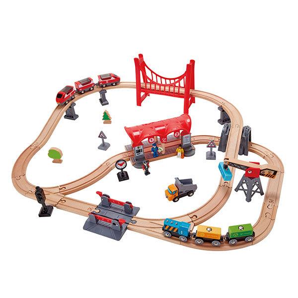 Juego hape circuito ferrocarril ciudad ajetreada