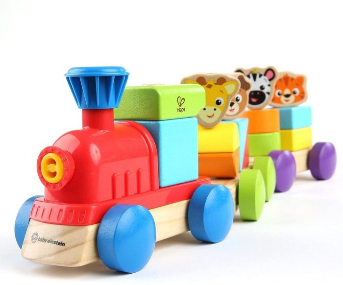 Discovery tren bloques y animales
