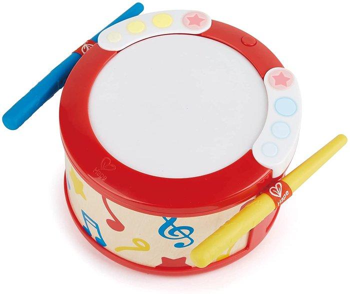 Tambor de luz interactivo aprende mientras tocas