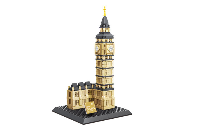 Maqueta piezas encajables elizabeth tower
