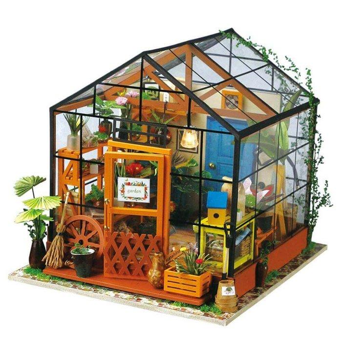 Maqueta casa invernadero de kathy