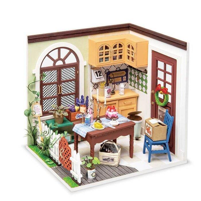 Maqueta casa comedor mrs charlie