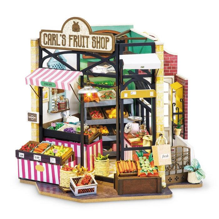Maqueta tienda de fruta carl
