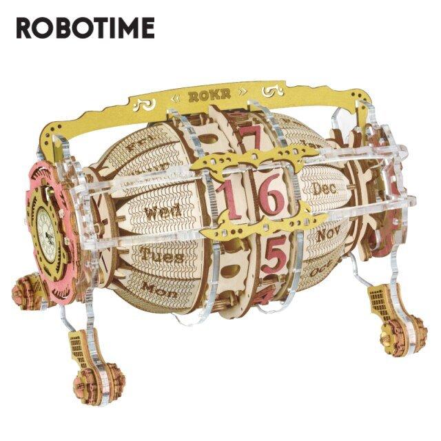 Maqueta time engine calendar
