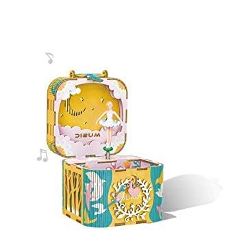 Maqueta caja de musica bailarina