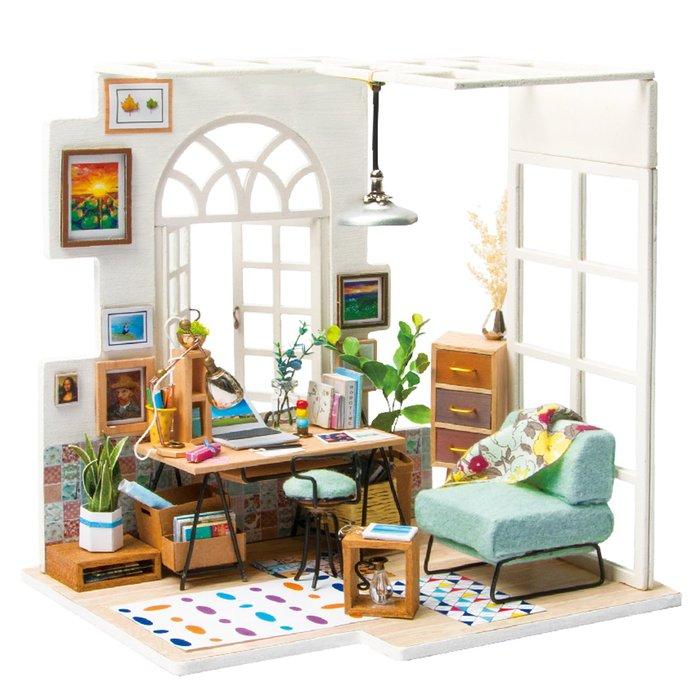 Maqueta casa estudio soho style
