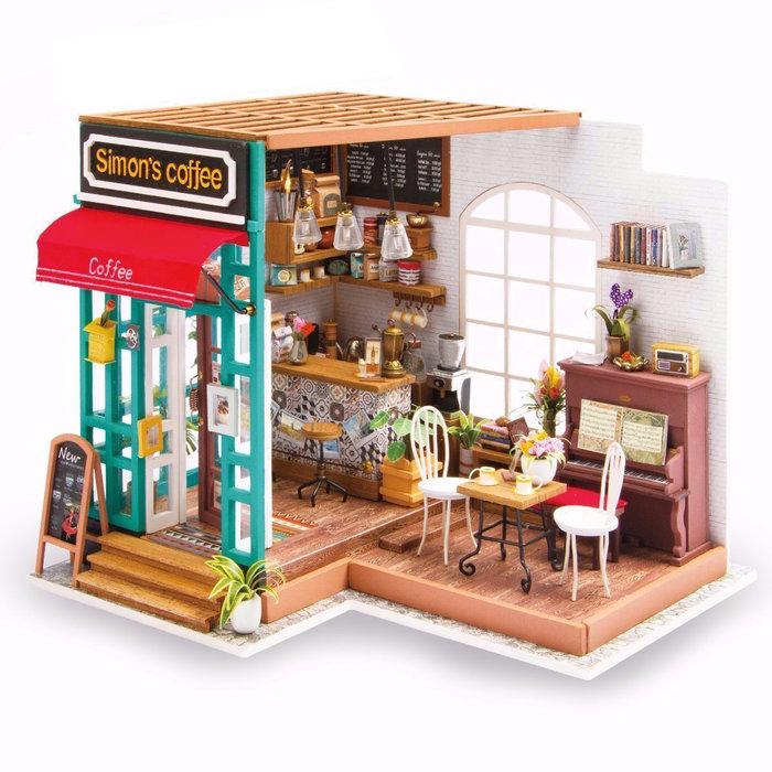 Maqueta casa cafeteria simon