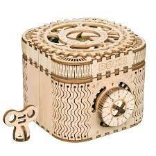 Maqueta caja secreta tesoro