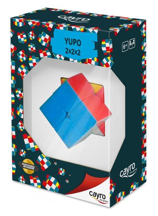 Juego de mesa cubo 2 x 2 yupo