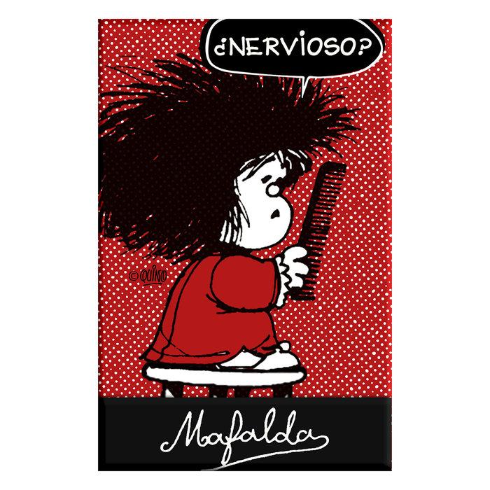 Libreta con cierre magnetico mafalda 06