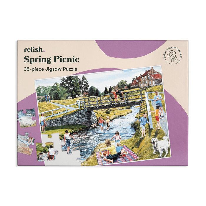 Puzzle especial spring picnic 35 p