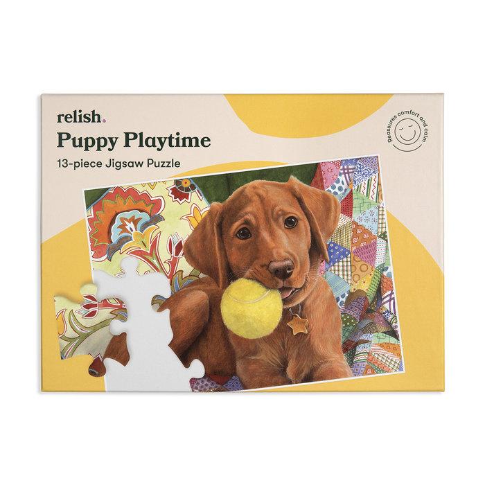 Puzzle especial puppy playtime 13 p