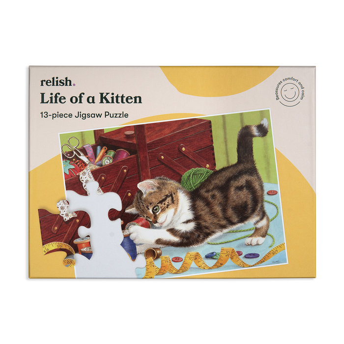 Puzzle especial life of a kitten 13 p
