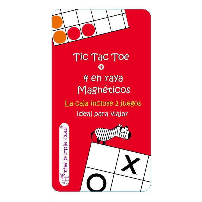 Tic tac toe + 4 en raya magnetico