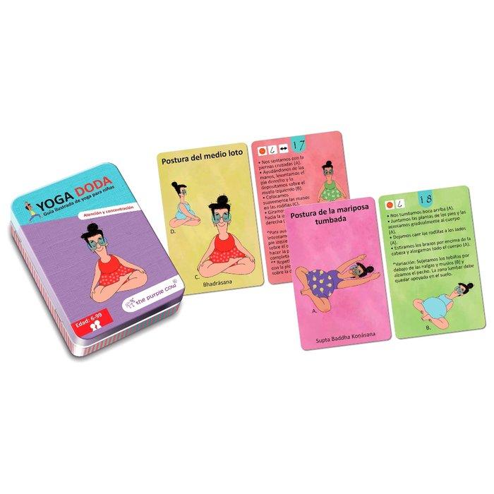 Juego educativo doda yoga atencion y concentracion