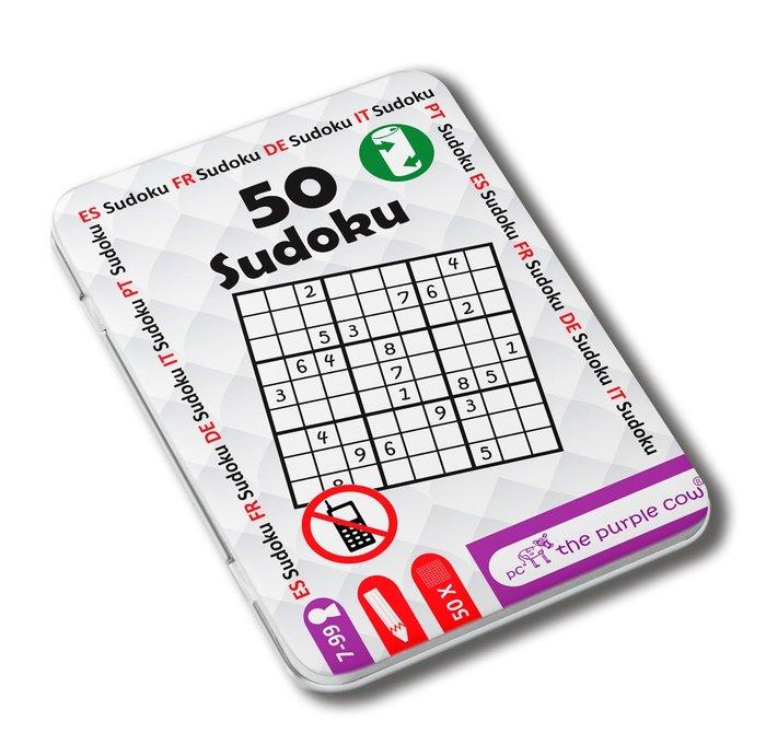 Juego de viaje 50 sudokus