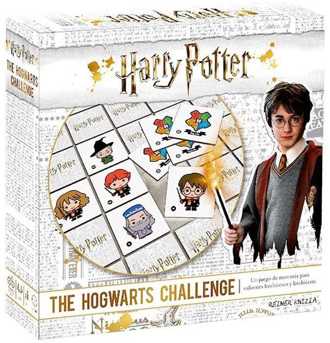 Juego de memoria hogwarts challenge