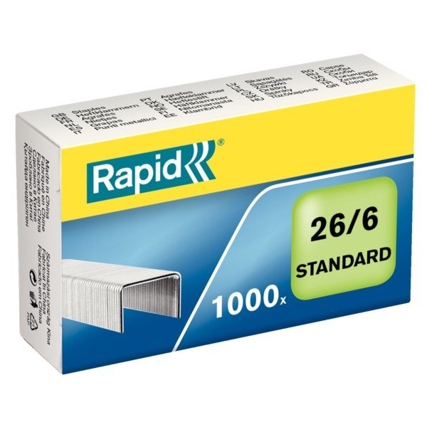 Grapas estandares rapid 26/6