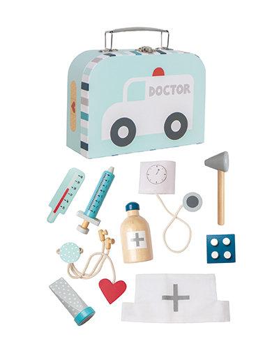 Maletin juguete doctor azul