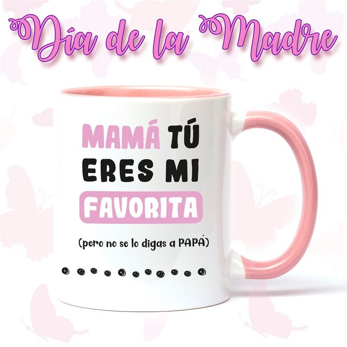 Taza de ceramica del dia de la madre no se lo digas