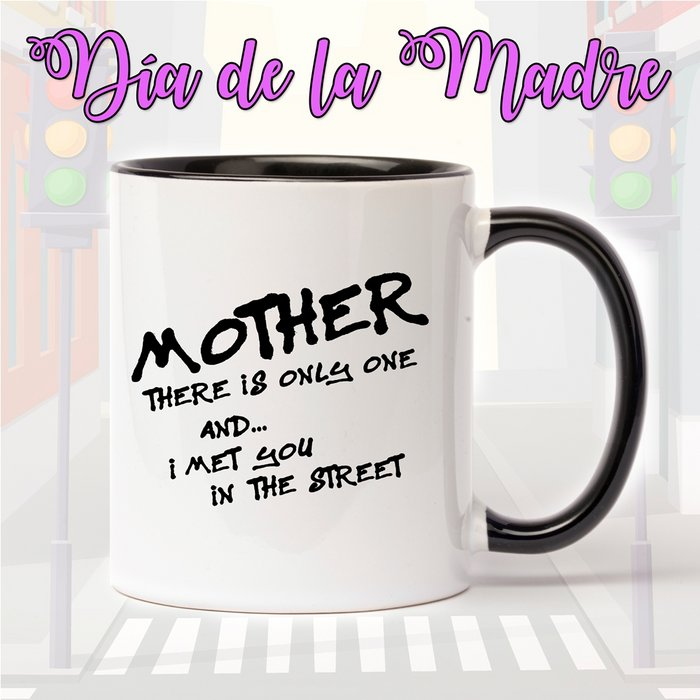 Taza de ceramica para el dia de la madre mother