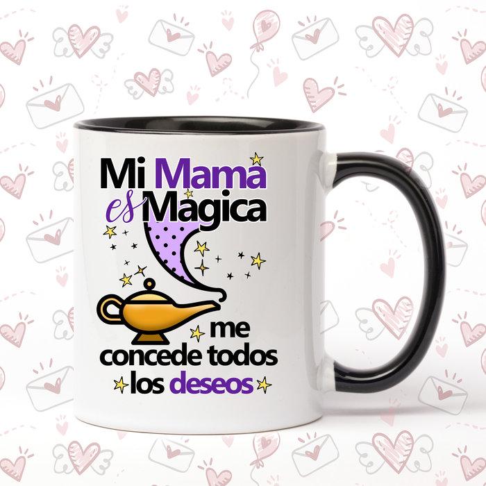 Taza de ceramica mi mama es magica