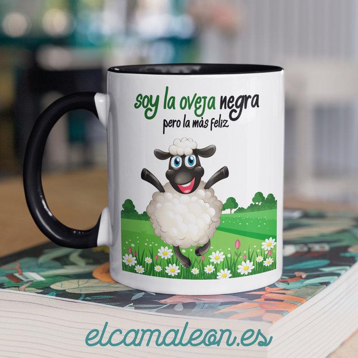 Taza ceramica soy la oveja negra
