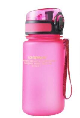 Botella tritan rosa 350ml