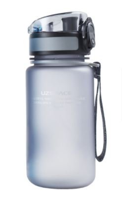 Botella tritan gris 350ml