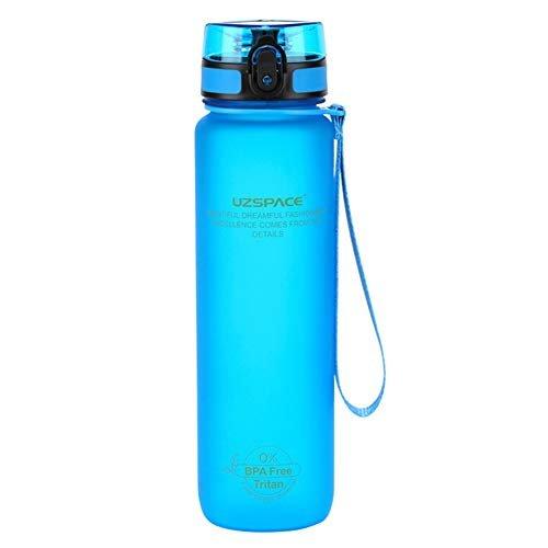 Botella tritan azul 500 ml