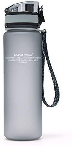 Botella tritan gris 500 ml