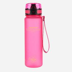 Botella tritan rosa 650 ml
